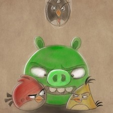 F08 ΦΩΤΟΤΑΠΕΤΣΑΡΙΑ ANGRY BIRDS