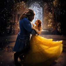 WLK167 ΦΩΤΟΤΑΠΕΤΣΑΡΙΑ BEAUTY AND BEAST